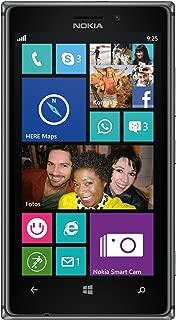 NOKIA Lumia 925rm-893GSM unlocked 4G LTE Windows 8智能手机–黑色 / 深灰色