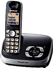 Panasonic松下 KX-TG6521G 无绳电话带电话答录机 黑色