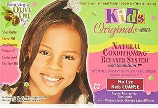 Africa Best Kids Organics No-lye 护发素系统,带*护套,适用于粗糙/耐性*