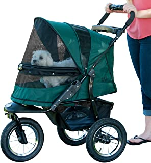 Pet Gear Jogger No-Zip Pet Stroller Forest Green 大