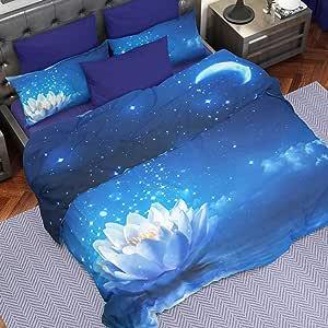 PETTI Artigiani Italiani - 羽绒被套,被套,床上用品套装,* 缎面面料,* 意大利制造 星夜晚 Single (150x200 cm) 8766397580199