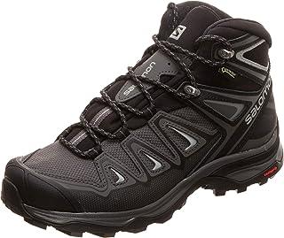 [萨洛蒙] 徒步鞋 X Ultra 3 MID GTX W 女士 Magnet/Black/Monument 23.5 cm