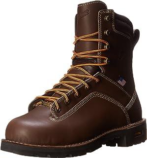 Danner 丹纳 男士 Quarry USA 8-Inch BR AT 靴子 棕色 7.5 Wide