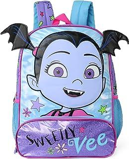 Disney 迪士尼儿童 3D Vampirina Fangtastic 学校背包 Sweetly Vee 均码