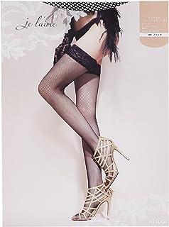 ATSUGI 厚木 je l'aime系列 及大腿 渔网花纹 长筒袜 FT12601