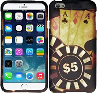 HRWIRELESS(TM) For Apple iPhone 6 Plus Cover Case Ace Poker
