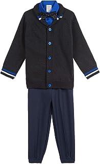 Calvin Klein 男童开衫毛衣长裤套装
