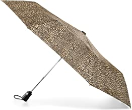 Totes Large One-Touch Auto Open Close Umbrella with Neverwet