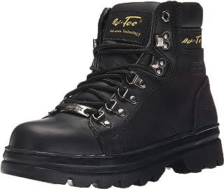 """AdTec 女士 6"""" 钢头工装靴"""