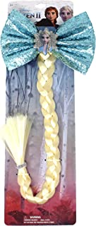 冰雪奇缘 2 女孩假发辫,艾莎公主服装