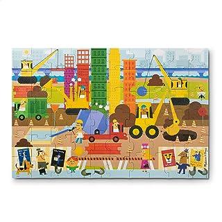 Melissa & Doug 自然玩耍大型地板拼圖:大建筑師(60 片,女孩和男孩的*禮物 - 適合 5、6、7 和 8 歲兒童)