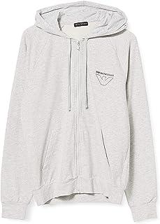 Emporio Armani 安普里奥·阿玛尼男式家居服 - 薄鹰毛衣运动衫
