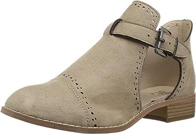 Brinley Co 女士 Tulsa 及踝靴 米色 8.5 M US