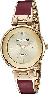 Anne Klein 安妮克莱因 女士 AK / 2512GYRG 镶钻石大理石纹手镯手表