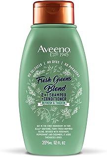 Aveeno 清爽浓缩 + 新鲜绿色混合 2 合 1 ,12 盎司