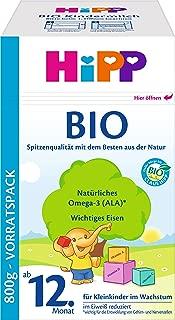 Hipp 喜宝 Bio 1+ 有机幼儿配方奶粉 适用1岁以上4 x 800g