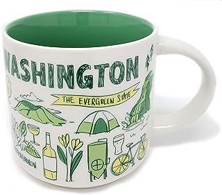 Starbucks Been There 系列咖啡杯 多种颜色 Washington unknown