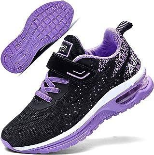 Autper 儿童空气网球跑鞋*泡沫运动轻质运动步行运动鞋男孩女孩(小童/大童)