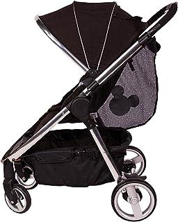 J.L. Childress Disney 迪士尼婴儿侧吊带婴儿车 货物网 婴儿车收纳袋 米奇黑