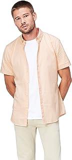 Find 男式纯棉短袖修身衬衫