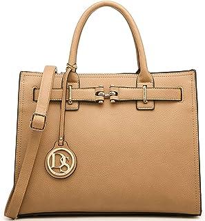 dasein 上衣腰带女式手提包设计师挎包 purses 单肩包笔记本电脑公文包