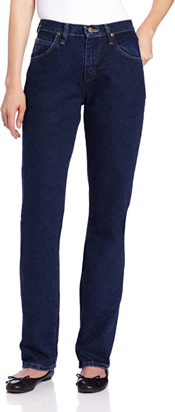 Wrangler Blues 女式休闲牛仔裤 复古靛蓝色 12x30