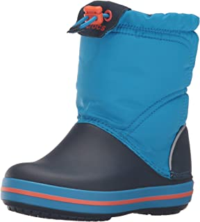 Crocs 卡骆驰儿童 Crocband LodgePoint 直接穿脱靴