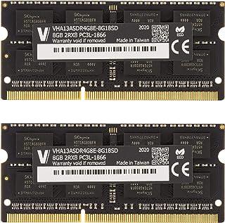 v-Color 16GB 套件(2 x 8GB) Apple 内存模块*适用于 2015 年末 iMac 27 英寸 Retina 5K 显示屏,MacBook Pro DDR3/DDR3L 非 ECC 1866MHz (PC3L-14900)...