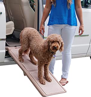 Pet Gear Indoor Bi-Fold Half Ramp with Carpet 棕色 小号