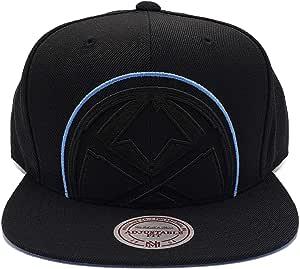 Mitchell & Ness 丹佛掘金队黑色剪裁 XL 可调节后扣帽