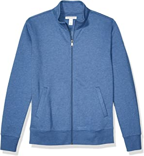 Amazon Essentials 男士全拉链羊毛半高领运动衫