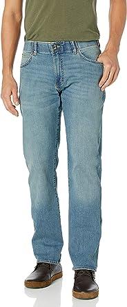 Lee 男式 现代系列极限运动合身直筒小裤脚牛仔裤