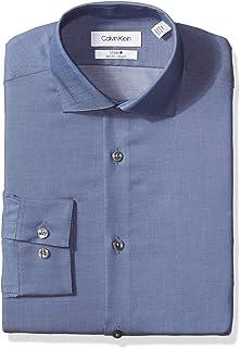 Calvin Klein 男式免烫弹力修身衬衫
