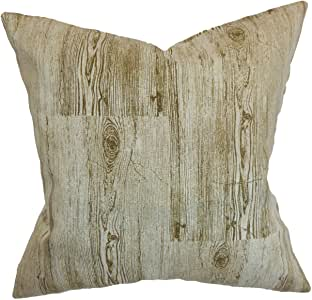The Pillow Collection Kratie Pillow, Toffee