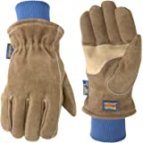 Men's Winter Work Gloves, Water Resistant Very Warm 100-gram Thinsulate, HydraHyde, Large (Wells Lamont 1196L)