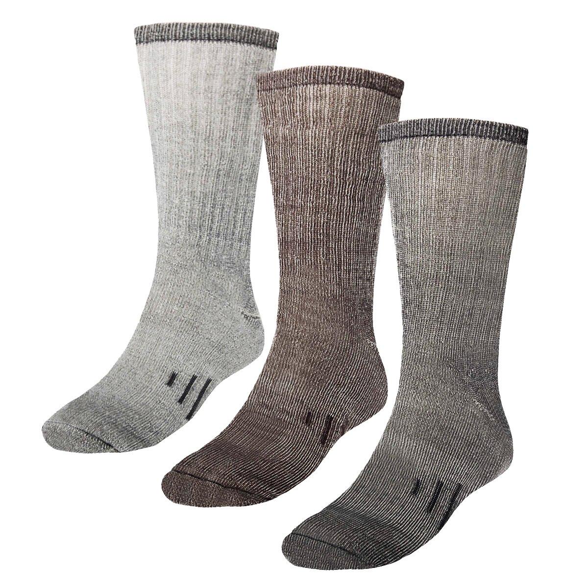 爽暖かいマレーの3の80%メリノウールの靴下:暖かい靴下、船の靴下、冬のハイキング靴下、紳士、婦人、子供は