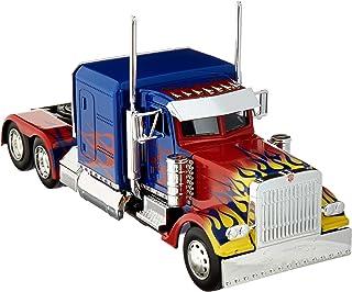 Jada 30446 擎天柱卡车带底座机器人 变形金刚电影好莱坞Rides 系列 压铸模型
