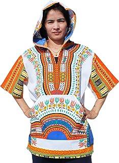 Raan Pah Muang 品牌薄款明亮大吉基风衣连帽短袖