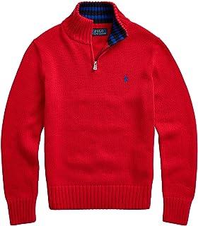 Polo Ralph Lauren Boys Monogram 罗纹针织套头毛衣