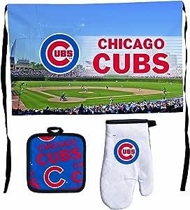 MLB Chicago Cubs Premium Barbeque Tailgate Set