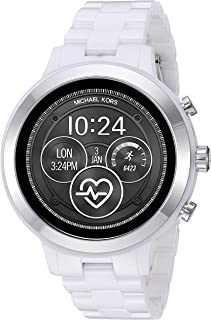 Michael Kors 迈克高仕 Access Gen 4 Runway 智能手表 - 支持 Google Wear OS with Heart Rate 、GPS、NFC 和智能手机通知