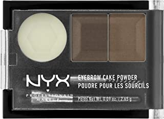 NYX 专业彩妆 眉粉,Brunette,0.09盎司,2.65克