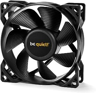 be quiet! 80mm 机箱风扇 PURE WINGS 2 标准款 3年保修 黑色 BL044