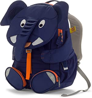 Affenzahn 幼儿园儿童背包适合男女学龄前儿童,适合 1-5 岁儿童 Elias Elephant - blue 3-5 years old - Large Friends