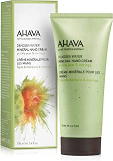 AHAVA 矿物护手霜,Prickly Pear & Moringa,3.4 盎司