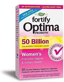 Nature's Way 澳萃維 Fortify Optima 女性500億益生元,嗜酸菌,30粒(新外觀,包裝可能有所不同)