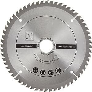 Scheppach 7901200715 配件/硬件锯片/层压锯片套装,软硬木,刨板,塑料和无铁矿金属,铝 24/48/60 Z