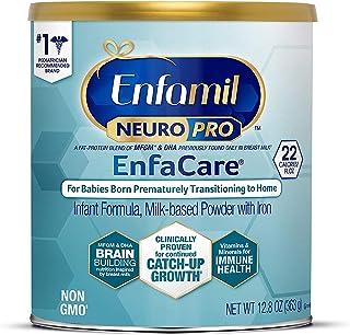 Mead Johnson 美赞臣 NeuroPro EnfaCare 早产儿配方奶粉,MFGM,Omega 3 DHA,益生元,铁,12.8盎司/363克
