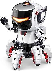 Elenco Teach Tech Tobbie II | BBC Micro:bit 机器人套件 | STEM 儿童教育玩具 10 岁以上