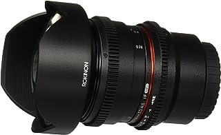 Rokinon Cine CV14M-C 14 毫米 T3.1 Cine 广角镜头,去除光圈和跟焦点兼容性 14-14 毫米广角镜头CV14M-MFT MFT 黑色